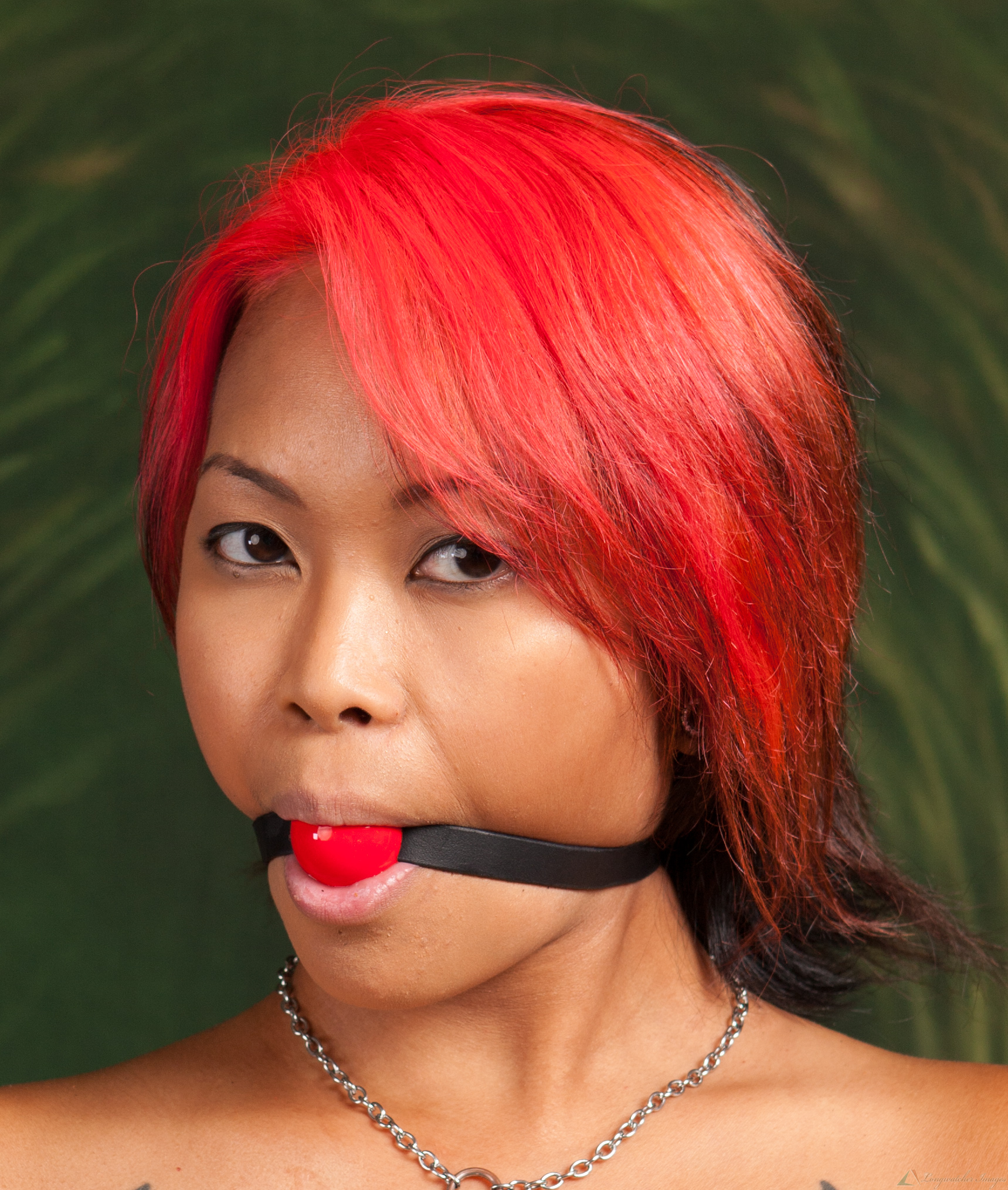 Red ball gagged
